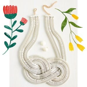 Modcloth Mika Nautical Knot Necklace (No Earrings)